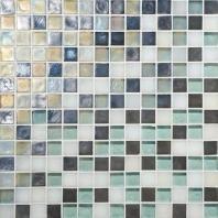 Glass Horizons Tile Atlantic Blend Mosaic GH11