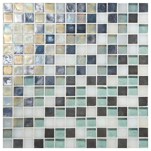 Glass Horizons Tile Atlantic Blend Mosaic GH11