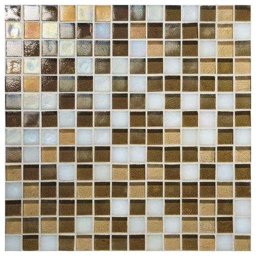 Glass Horizons Tile Mediterranean Blend Mosaic GH12