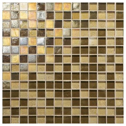 Glass Horizons Tile Caspian Blend Mosaic GH13