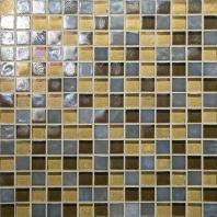 Glass Horizons Tile Pacific Blend Mosaic GH14