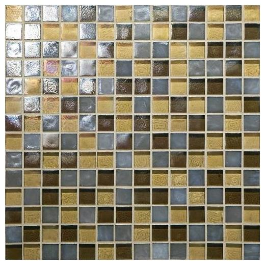 Glass Horizons Tile Pacific Blend Mosaic GH14
