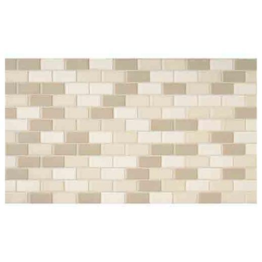 Keystones Tile Beach 2x1 Brick-Work Mosaic DK04