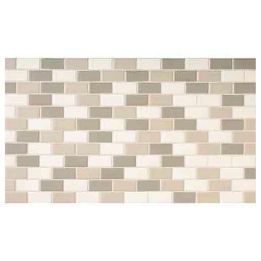 Keystones Tile Mirage 2x1 Brick-Work Mosaic DK11