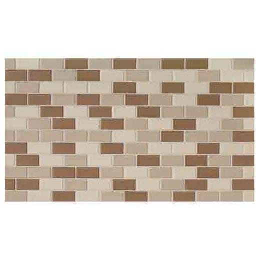 Keystones Tile Khaki 2x1 Brick-Work Mosaic DK12