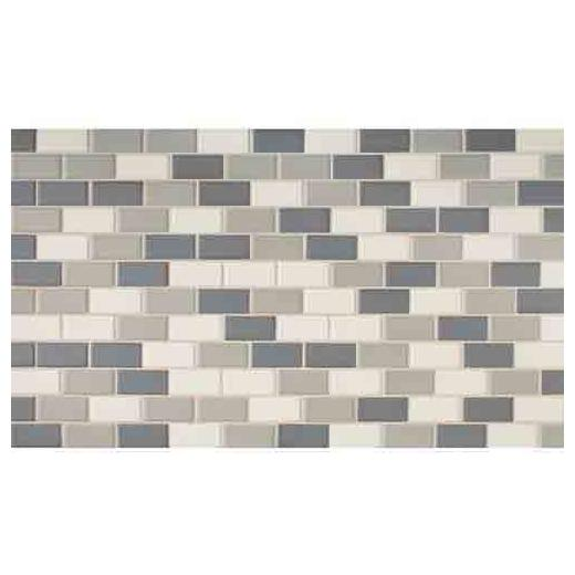 Keystones Tile Moonlight 2x1 Brick-Work Mosaic DK14