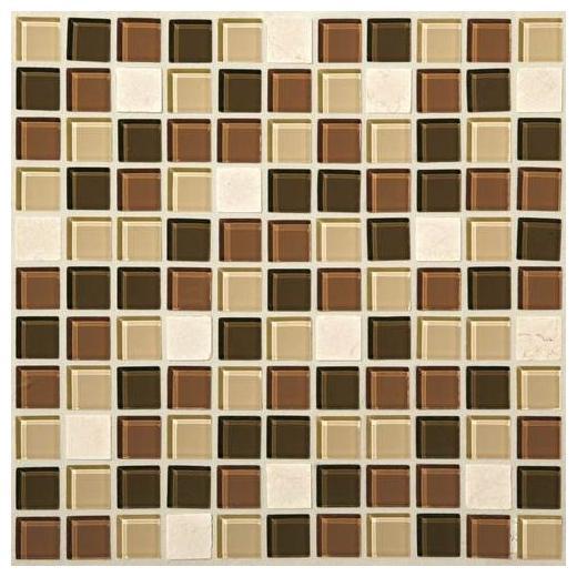 Mosaic Traditions Tile Desert Dune 1x1 Mosaic BP94