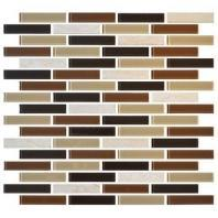 Mosaic Traditions Tile Desert Dune 5/8 x 3 Brick-Joint Mosaic BP94