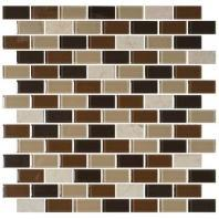 Mosaic Traditions Tile Desert Dune 3/4 x 1 1/2 Brick-Joint Mosaic BP94