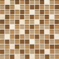 Mosaic Traditions Tile Caramelo 1x1 Mosaic BP95
