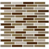 Mosaic Traditions Tile Caramelo 5/8 x 3 Brick-Joint Mosaic BP95
