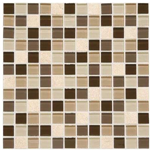 Mosaic Traditions Tile Zen Escape 1x1 Mosaic BP96