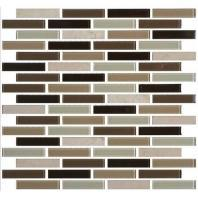 Mosaic Traditions Tile Zen Escape 5/8 x 3 Brick-Joint Mosaic BP96