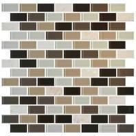 Mosaic Traditions Tile Zen Escape 3/4 x 1 1/2 Brick-Joint Mosaic BP96