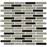 Mosaic Traditions Tile Evening Sky 5/8 x 3 Brick-Joint Mosaic BP97