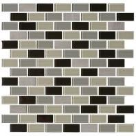 Mosaic Traditions Tile Evening Sky 3/4 x 1 1/2 Brick-Joint Mosaic BP97