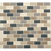 Mosaic Traditions Tile Skyline 3/4 x 1 1/2 Brick-Joint Mosaic BP99