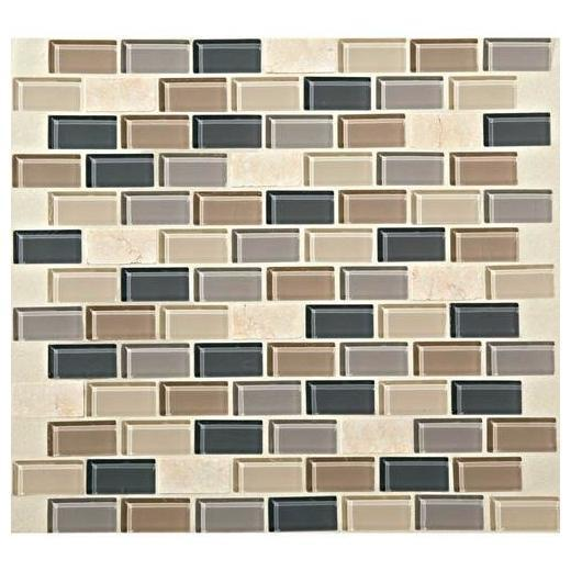 Mosaic Traditions Tile Skyline 3/4 x 1 1/2 Brick-Joint Mosaic BP99