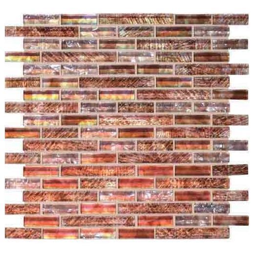 Soiree Tile Barbados 5/8 Random Mosaic F156