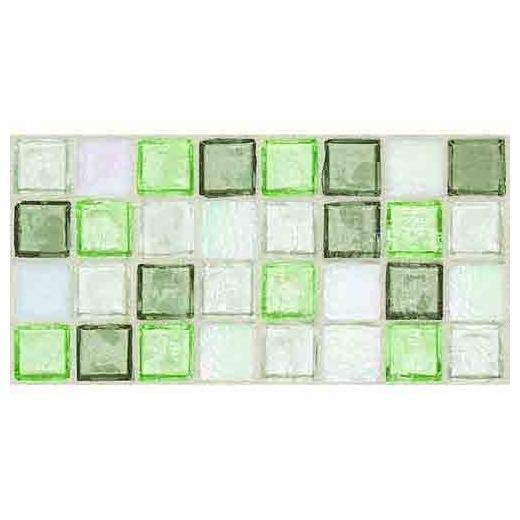 Egyptian Glass Tile Peridot Fusion EG31