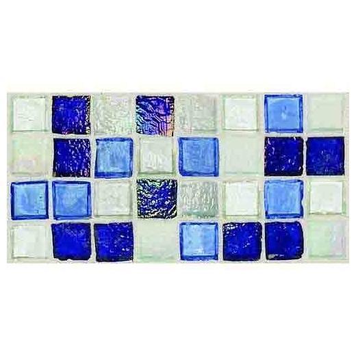 Egyptian Glass Tile Sapphire Collage EG32