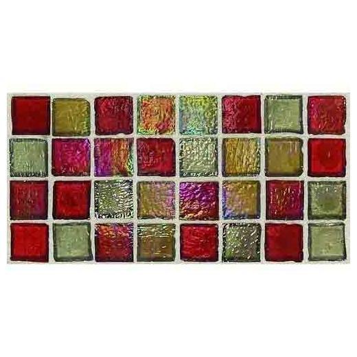 Egyptian Glass Tile Garnet Gallery EG33