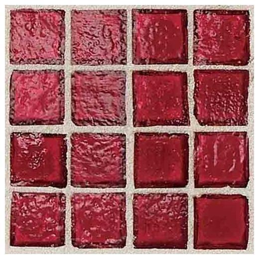 Egyptian Glass Tile Crimson EG05