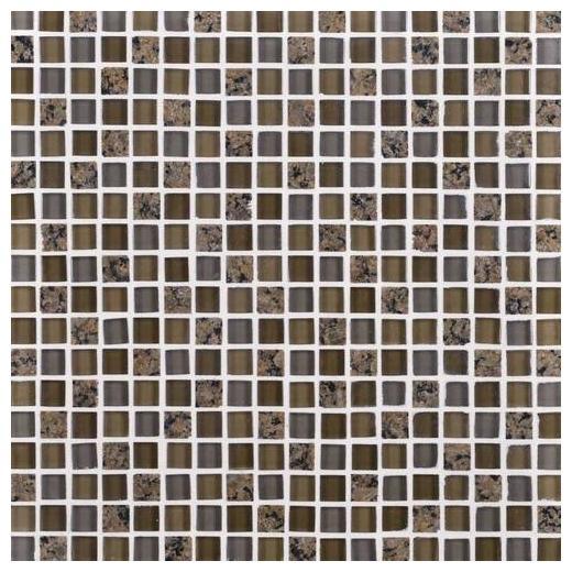 Granite Radiance Tile Tropical Brown Blend GR63