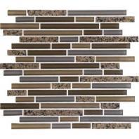 Granite Radiance Tile Tropical Brown Blend Random GR63
