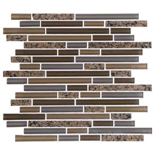 Granite Radiance Tile Tropical Brown Blend Random GR63