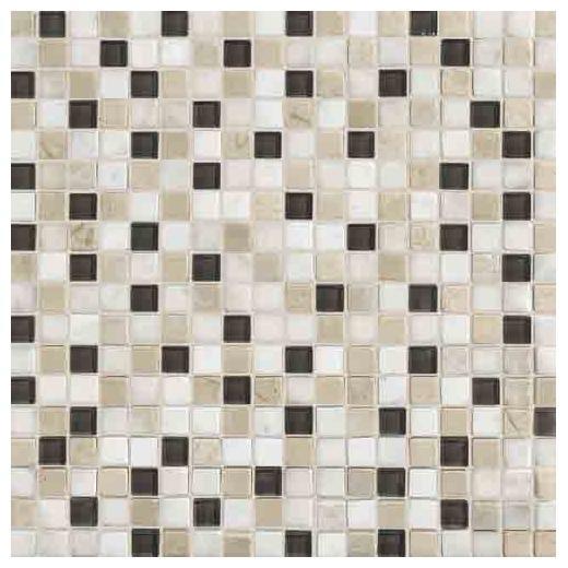 Stone Radiance Tile Kinetic Khaki Blend SA50