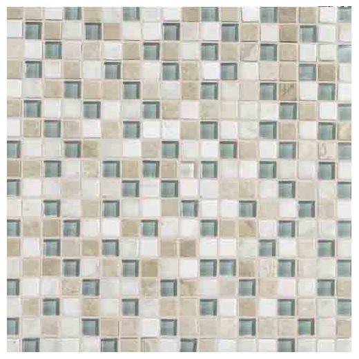 Stone Radiance Tile Whisper Green Blend SA51