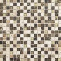 Stone Radiance Tile Morning Sun/ Tortoise/ Mushroom Blend SA52