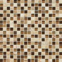 Stone Radiance Tile Caramel/ Travertino Blend SA58