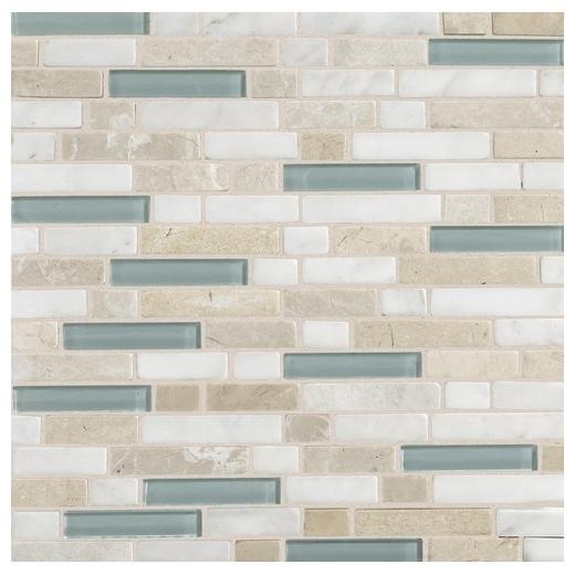 Buy Daltile Stone Radiance Tile Whisper Green Blend Random