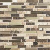 Stone Radiance Tile Morning Sun/ Tortoise/ Mushroom Blend Random SA52