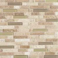 Stone Radiance Tile Mushroom/ Morning Sun Blend Random SA53