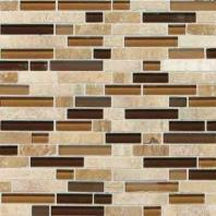 Stone Radiance Tile Caramel/ Travertino Blend Random SA58