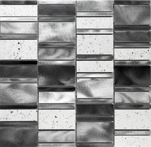 Citta Series Silver Luster Mosaic Tile