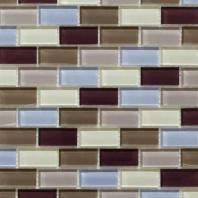 Essen Series Berry Wine Mosaic Tile