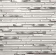 Riga Series Marble Ice Mosaic Tile