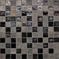 Oceanside Glass Geologie Series Blend Black Hills 1X1GEOBLA
