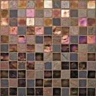Oceanside Glass Geologie Series Blend Painted Desert 1X1GEOPAI