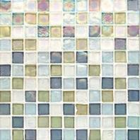 Oceanside Glass Tessera Series Blend Puget Sound 1X1TSBPUG