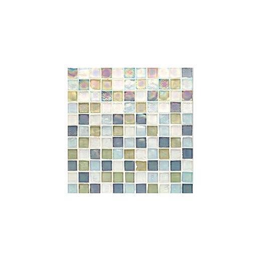 Oceanside Glass Tessera Series Blend Puget Sound 1X1TSBPUG