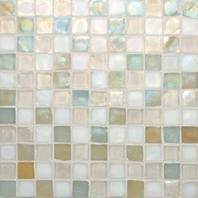 Oceanside Glass Tessera Series Blend Creme 1X1TSBCRE