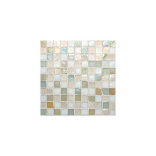 Oceanside Glass Tessera Series Blend Creme 1X1TSBCRE