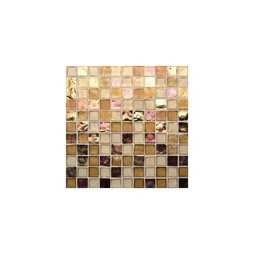 Oceanside Glass Tessera Series Blend Copper Tone 1X1TSBCOP