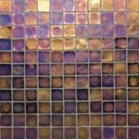 Oceanside Glass Tessera Series Bronze 1X1TESBRO