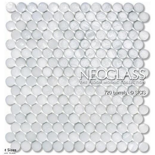 Sicis NeoGlass Barrels Series Cotton BARR-COTT
